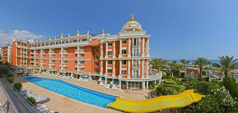 هتل آنتیک رومان پالاس آلانیا