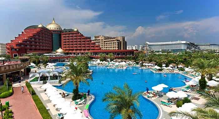 هتل دلفین پالاس آنتالیا
