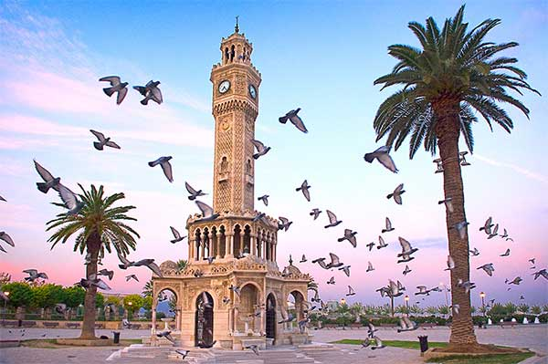 ازمیر ترکیه - آب و هوای ترکیه