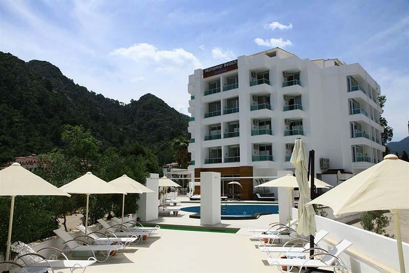 هتل مونامار بیچ رزیدنس مارماریس