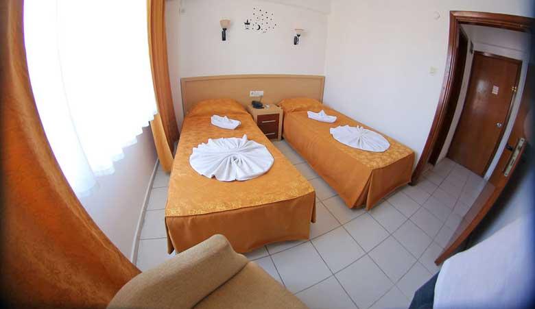 نمایی از اتاق هتل پرستیژ رزیدنس کوش آداسی
