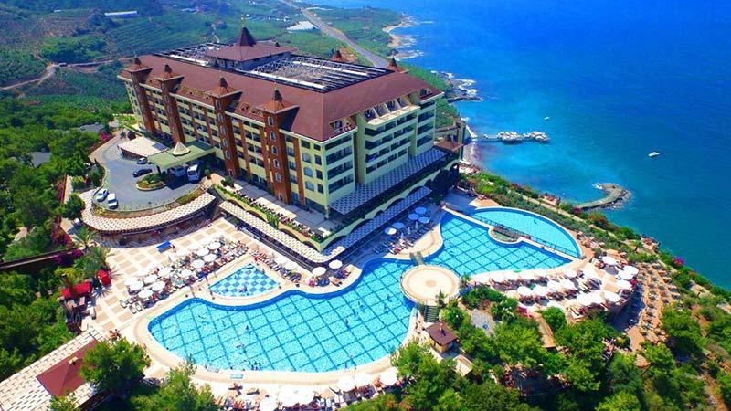 هتل اتوپیا ورلد آلانیا