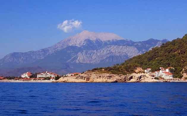 دیدنی های آنتالیا - Olympus and the Chimaera