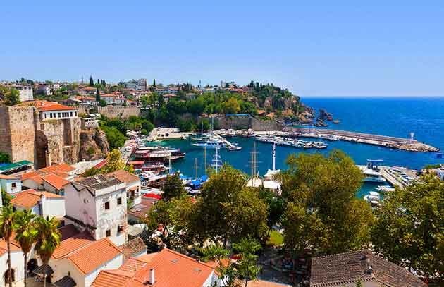 دیدنی های آنتالیا - Old Harbour