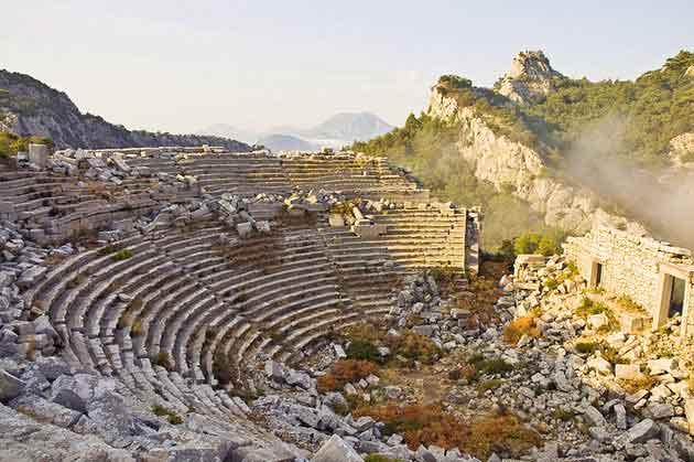دیدنی های آنتالیا - Termessos